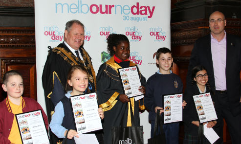2014 Junior Lord Mayor competition finalists