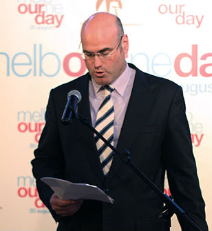 Melbourne Day chairman Campbell Walker