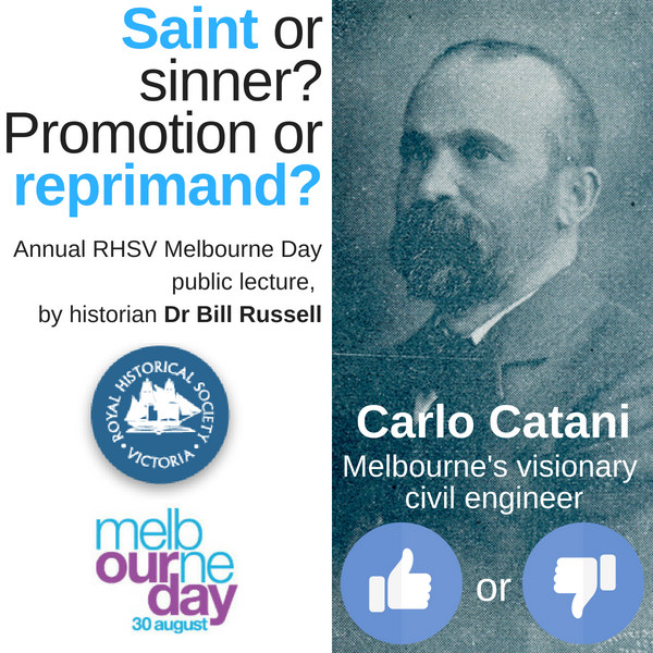 Carlo Catani Melbourne Day lecture