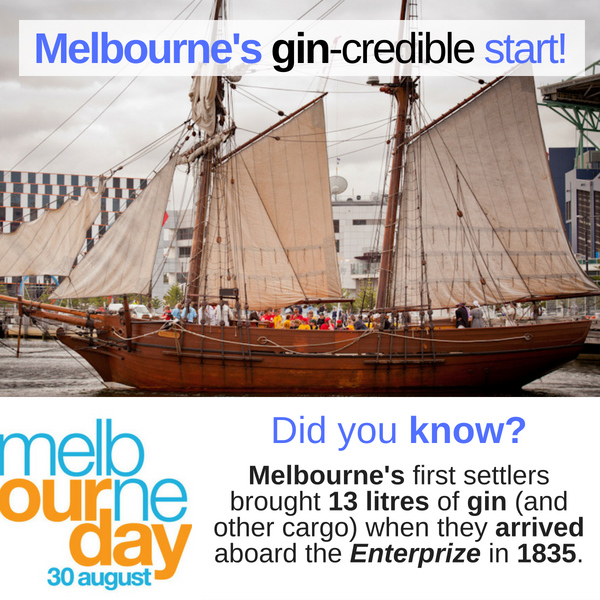 Melbourne Day Enterprize Foundation Day