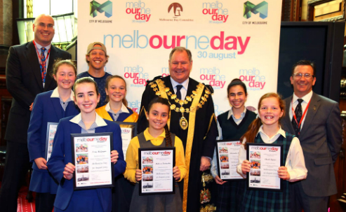 2015 Junior Lord Mayor finalists and judges