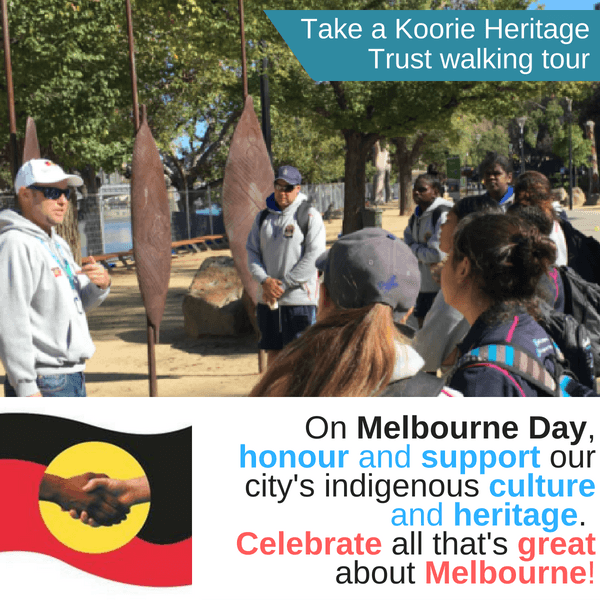 Koorie Heritage Trust walking tours tile