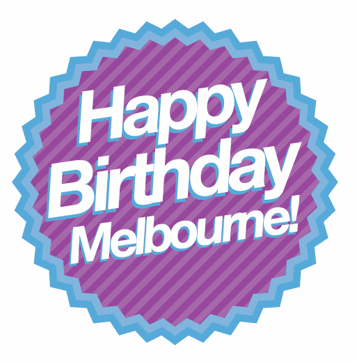 Melbourne Day button