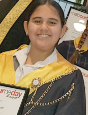 2018 Junior Lord Mayor Chloe Amalfi