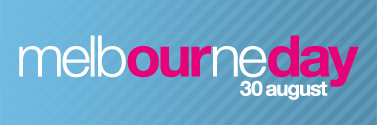 Melbourne Day website masthead