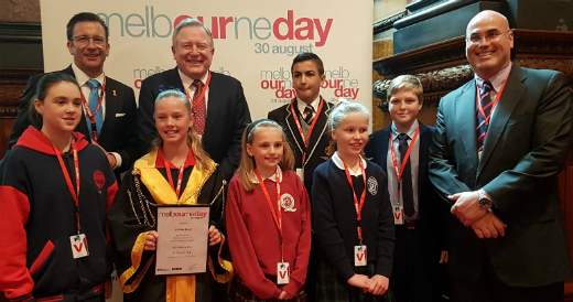 Junior Lord Mayor of Melbourne judging 2017