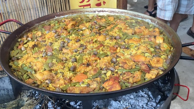 Paella from Simply Spanish restaurant Melbourne